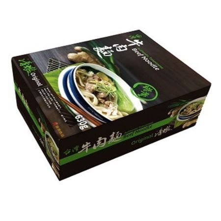 Han Dian Authentic Taiwanese Beef Noodle - Original 1 Serving 630g