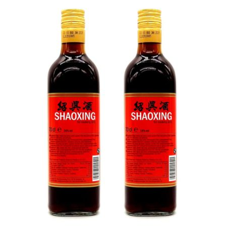 Starry Shaoxing Wine (For Cooking Only) 700ml 14% Acl./ Vol (Pack of 2)