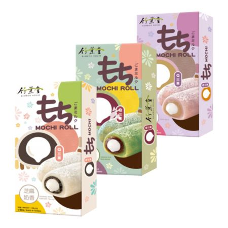 Bamboo House Q3 Mochi Roll 150g (Assorted Flavour Set of 3)