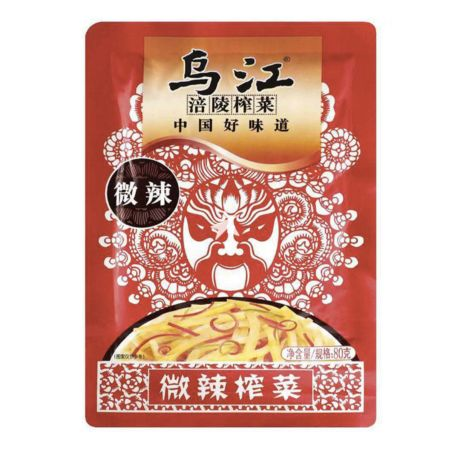 FLZC Wujiang Spicy Pickled Mustard Tuber (With Sugar and Sweetener) 80g