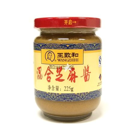 Wangzhihe Sesame Paste with Peanut Butter 225g