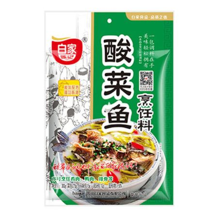 Baijia Pickled Cabbage Fish Flavour 300g
