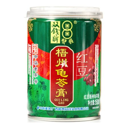Double Coins Guilinggao in Red Bean Flavour 250g