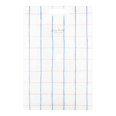 Kokuyo Life Field A4 Vertical File Organizer 6 Pockets - Blue and Red