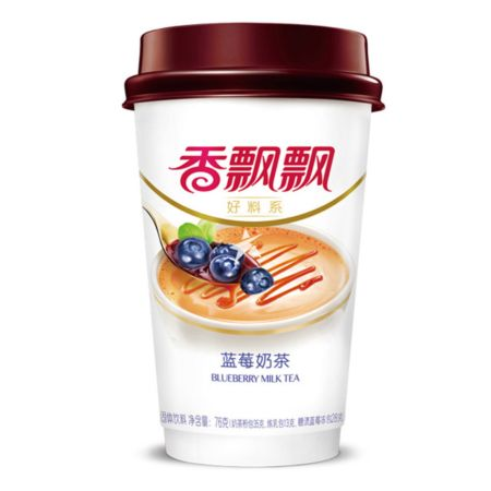 Xiang Piao Piao Milk Tea with Blueberry 80g