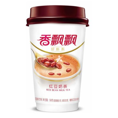 Xiang Piao Piao Milk Tea with Red Bean 64g