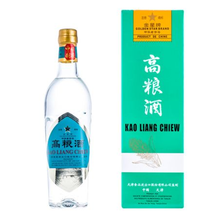 Golden Star Brand Kao Liang Chiew 500ml 62% Alc./Vol