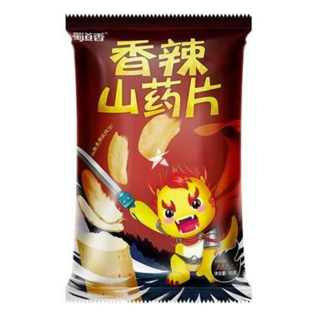 Shudaoxiang Spicy Yam Slices 65g