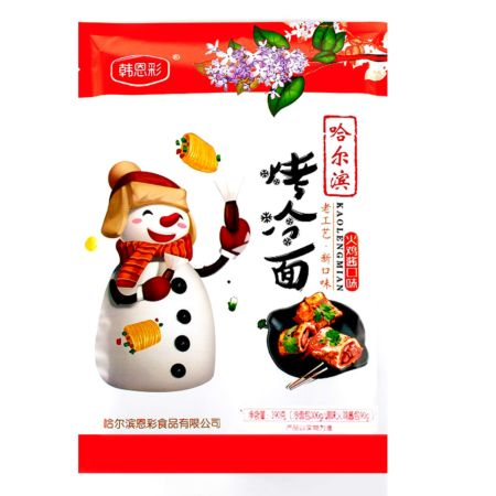 Encai Hanencai Series Grilled Cold Noodles Extra Hot Spicy Chicken Flavour 390g