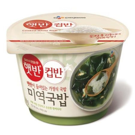 CJ Cooked Rice with Seaweed Soup 165g
