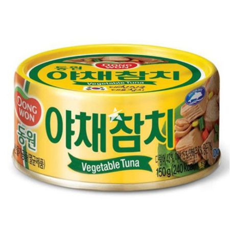 Dongwon Canned Tuna (Vegetable) 150g