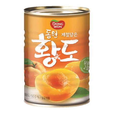 Dongwon Canned Yellow Peach 400g
