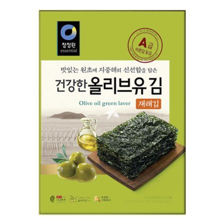Daesang Chung Jung One Olive Oil Traditional Laver 20g