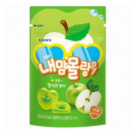 Crown Naemam Molang Green Apple Flavour Gummy 50g