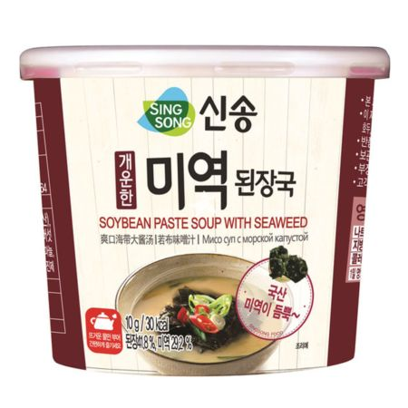 Singsong Soybean Paste Soup with Seaweed 10g