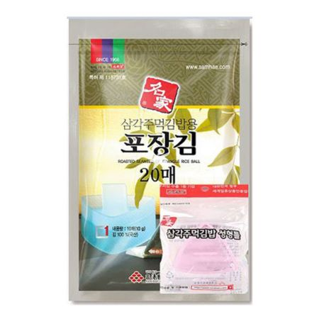 Samhae Roasted Seaweed of Triangle Rice Ball (with Mould) 20g