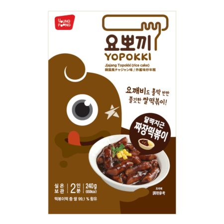 Young Poong 炸酱味炒年糕 2 Servings 240g