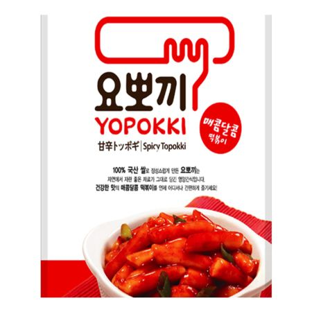 Young Poong Yopokki Spicy Topokki 2 Servings 280g
