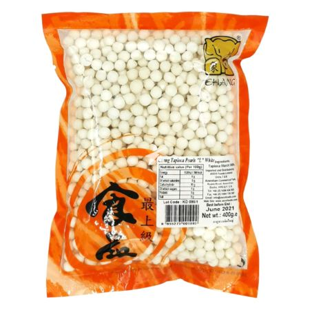 Chang Brand Tapioca Pearls White (Large) 400g