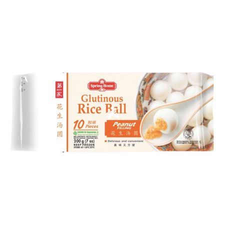 Spring Home Glutinous Rice Ball (Peanut Filling) 10 Pieces 200g
