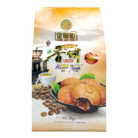 Chin Lian Hoe White Coffee Heong Peah Biscuit 380g
