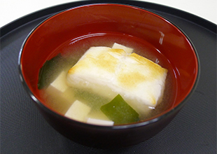 Miso Soup with Mochi (2 Servings)