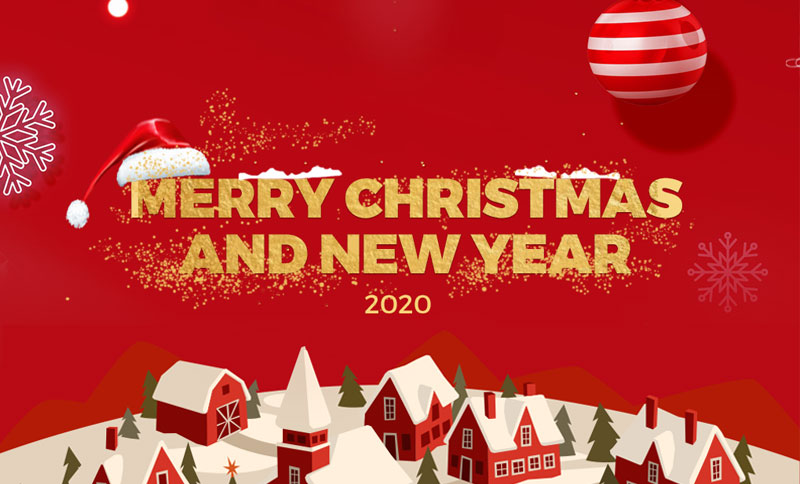 Christmas & New Year 2019 Delivery Schedule