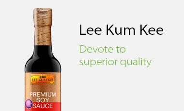 Lee Kum Kee Devote to Superior Quality - Chinese Cooking Ingredients