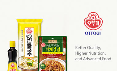 Ottogi is committed providing 'Better Quality, Higher Nutrition, and Advanced Food'